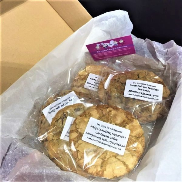 Gluten-free cookies by post