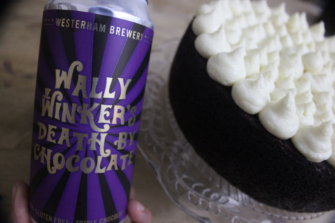 Gluten-free chocolate stout cake recipe