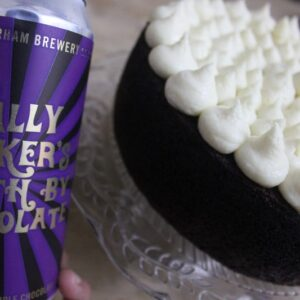 Gluten-free death by chocolate stout cake