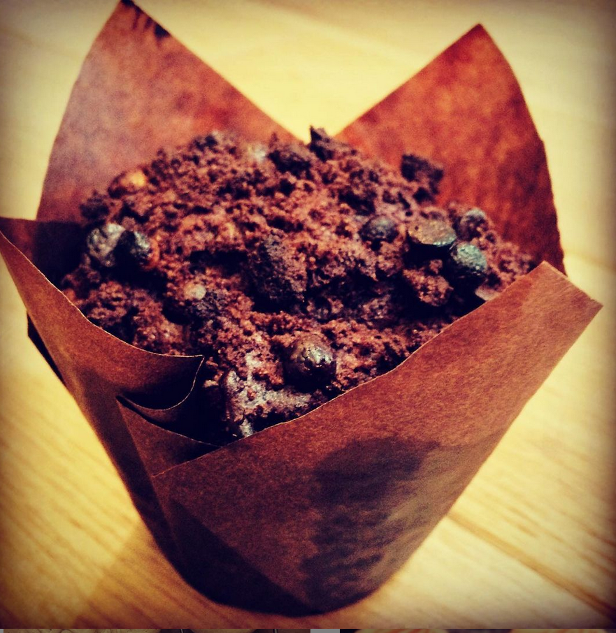 Gluten-free chocolate muffin