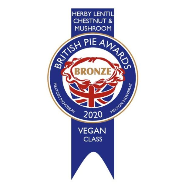 Award winning vegan pie