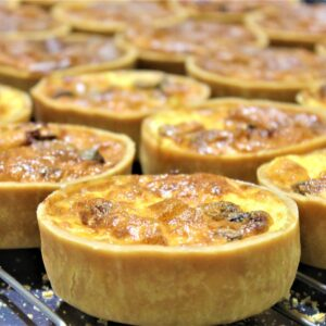 Gluten-free sweet and savoury tarts|