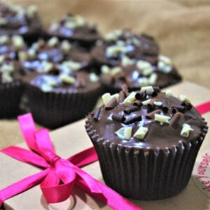 Ultimate chocolate lover's cupcake baking kit