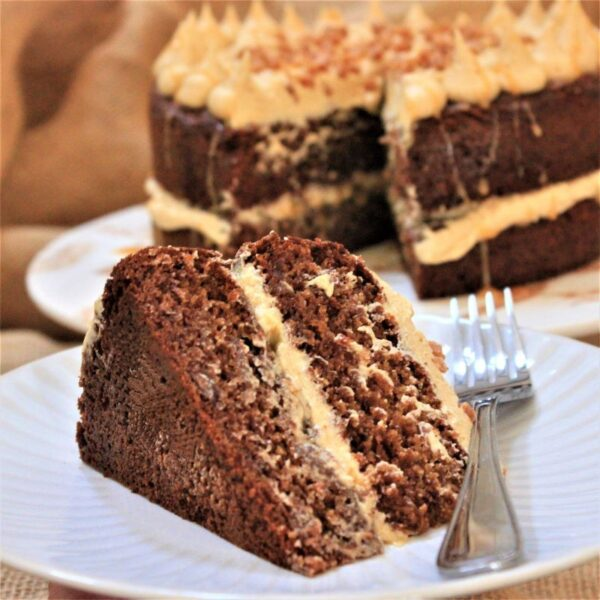 Gluten-free sticky toffee cake - bake at home